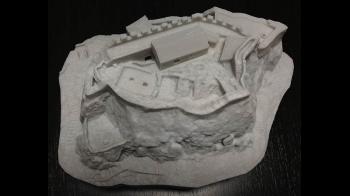 Tvrđava Sokol - maketa (3D ispis)